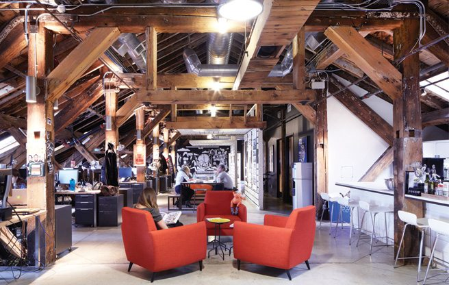 Great Offices: Sid Lee's lofty space inside a Distillery District landmark