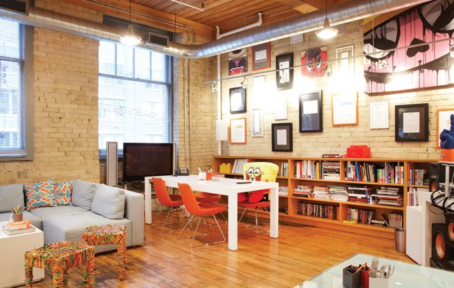 Great Offices: a digital design agency's ultra-playful King West digs