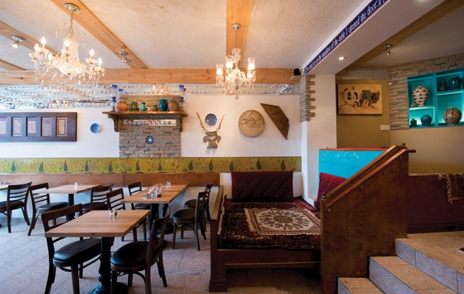 Introducing: Takht-e Tavoos, a new Persian restaurant from the owners of Pomegranate