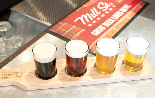 Introducing: The Beer Hall, Mill St. Brewery's new pub serving bierschnaps