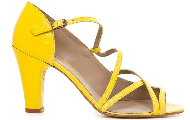 The Find: vintage-inspired sandals from Philip Sparks' first women's shoe collection