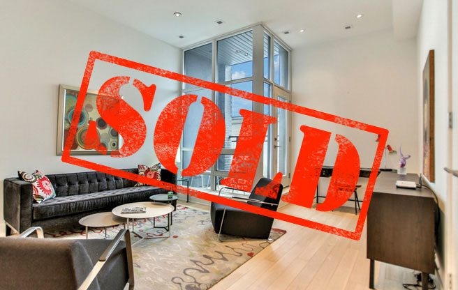 """Sold: a """"loft house"""" on the Dupont strip for $818,000"""