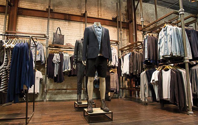Mode clothing store. Clothing stores online