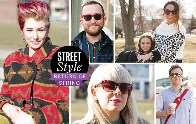 Street Style: Return of Spring