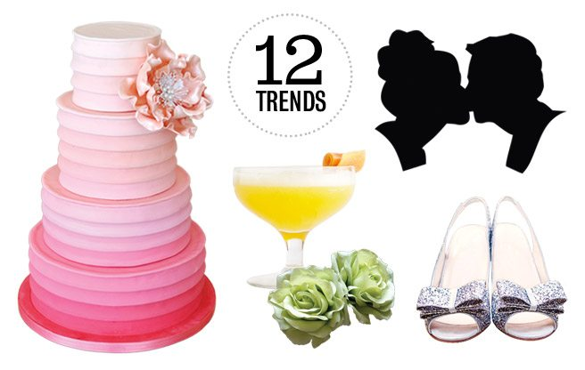 Wedding Guide: the top 12 wedding trends for 2013