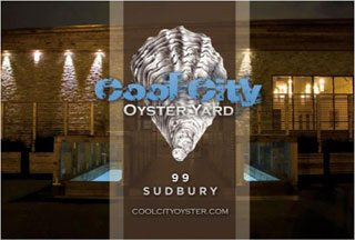 A summer oyster bar is joining the eclectic mix at 99 Sudbury