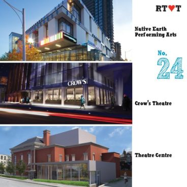 No. 24 | Because the condo boom is giving three theatre companies awesome new stages