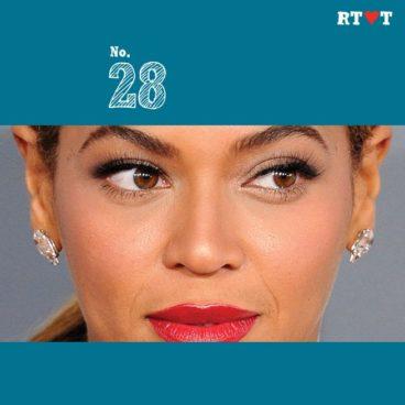 No. 28 | Because Beyoncé blinks mink