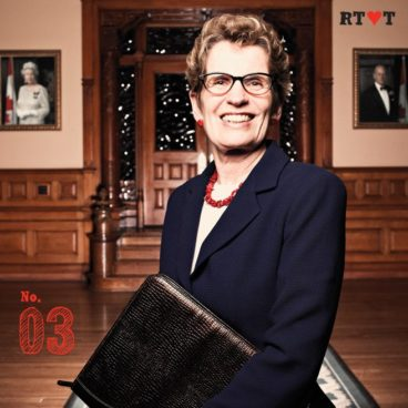 No. 3 | Because Kathleen Wynne is one of us