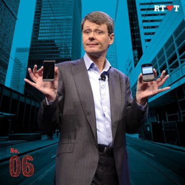 No. 6 | Because BlackBerry narrowly avoided getting crushed
