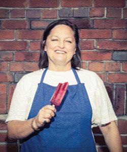 Toronto Life Cookbook 2012 Recipe: Blackberry-Yuzu Ice Pops