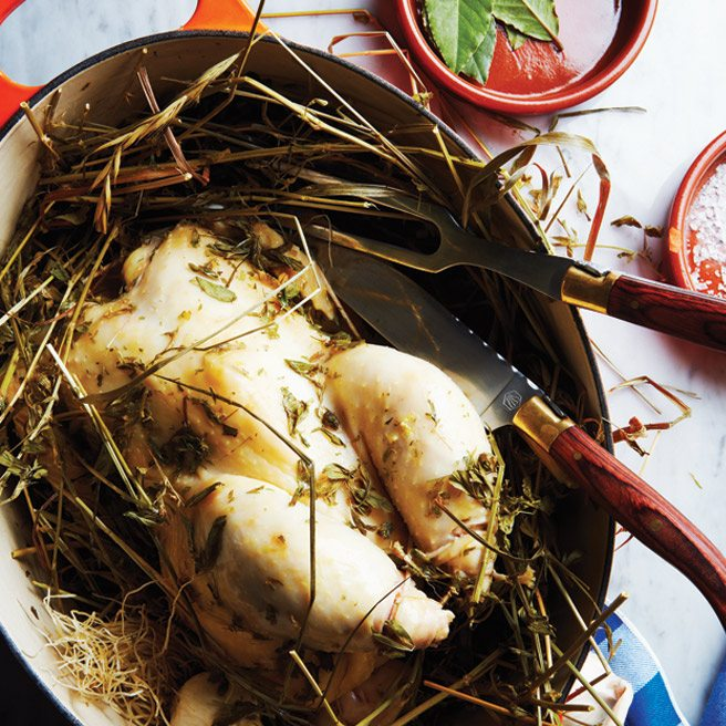 Toronto Life Cookbook Recipe 2012: Chicken Baked in Hay