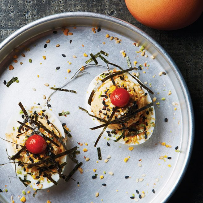 Recipe: Sriracha-tinged devilled eggs from former Yours Truly chef Jeff Claudio