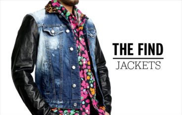 The Find: denim jackets for guys
