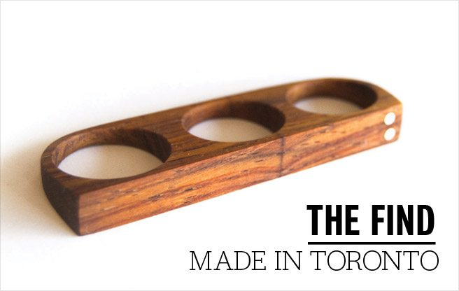 The Find: tough-looking wooden rings that launched a Toronto menswear brand