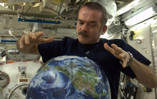 The eight coolest things Chris Hadfield did from space