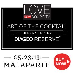Love your City - The art of the cocktail