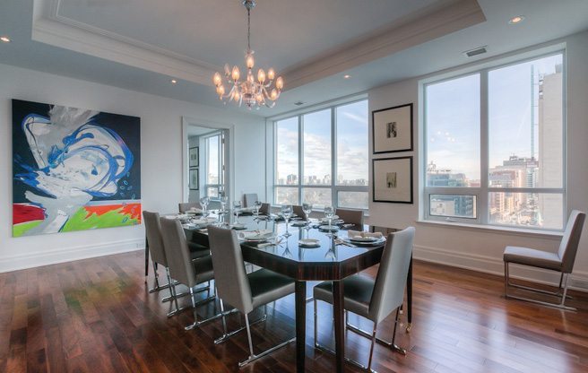 Condo of the Week: $3.3 million for a suite with its own mini art gallery at Avenue and St. Clair