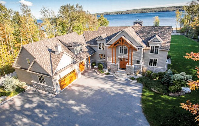 Cottage of the Week: $2.35 million for a waterfront property with a very pricey home theatre