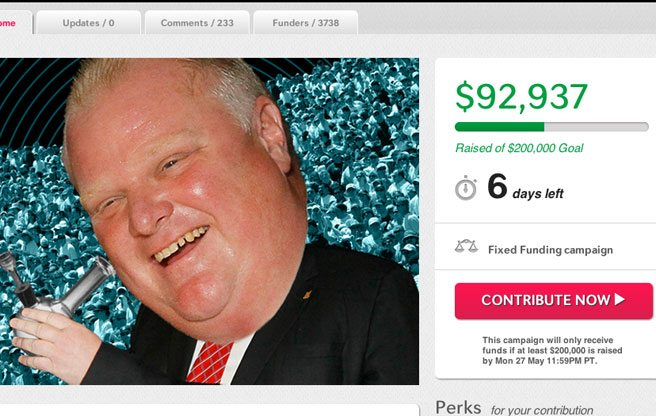 How close is Gawker to publishing the Rob Ford crack video?