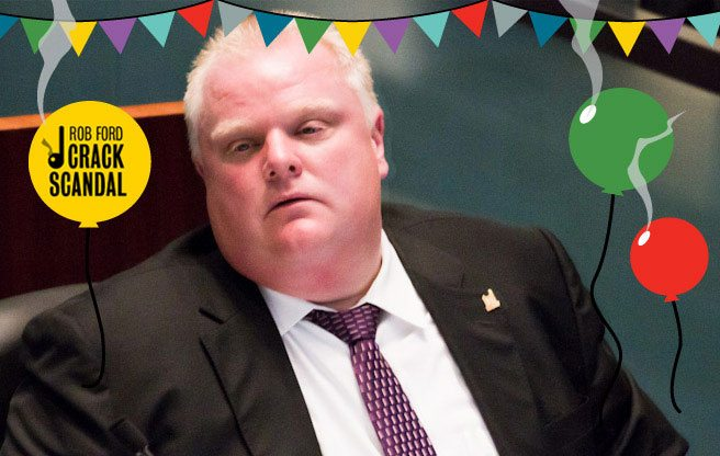 It's Rob Ford's birthday: 10 gifts for the man who has everything (and by everything, we mean a crack scandal)