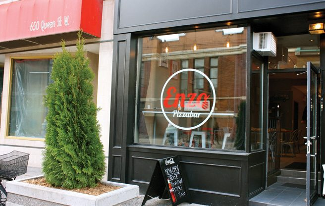 Introducing: Enzo Pizza Bar, the new make-your-own pizza joint on Queen Street West