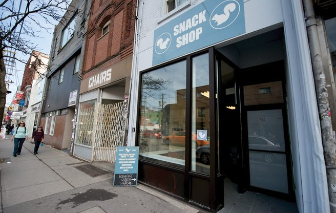 Introducing: White Squirrel Snack Shop