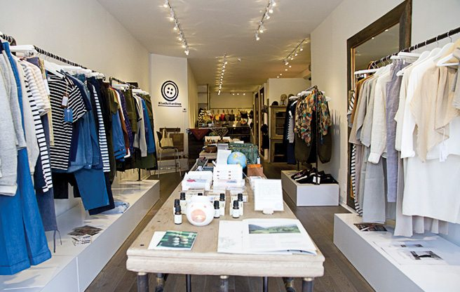 "Store Guide: Blue Button, an ""otona"" style boutique in Dundas West"
