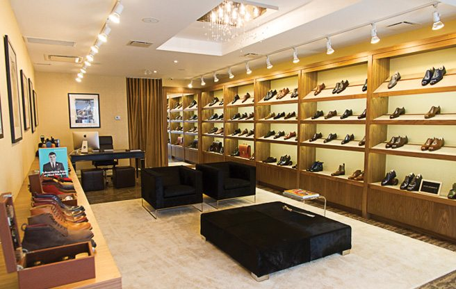 Store Guide: LeatherFoot, a high-end men's custom shoe store in Yorkville