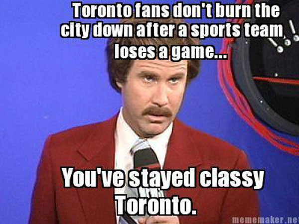 Slideshow: the Internet reacts to the Maple Leafs' crushing loss