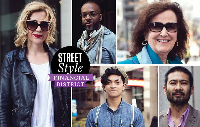 Street Style: Financial District