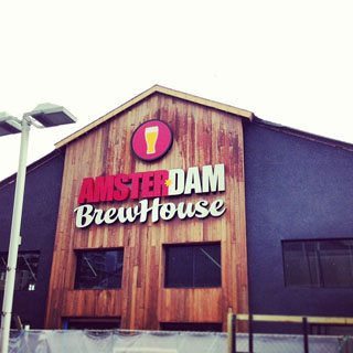 Amsterdam Brewery is opening one of the city's biggest brewpubs on Canada Day