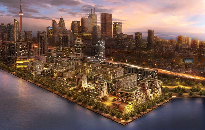 A 13-acre, billion-dollar condo and office development is coming to the easterly waterfront