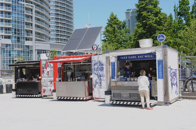 Introducing: Common Goods, a new food court housed in shipping crates at Harbourfront