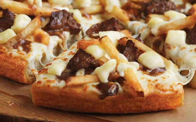 Pizza Hut unleashes its latest gimmick pie: the cheesy beef poutine pizza
