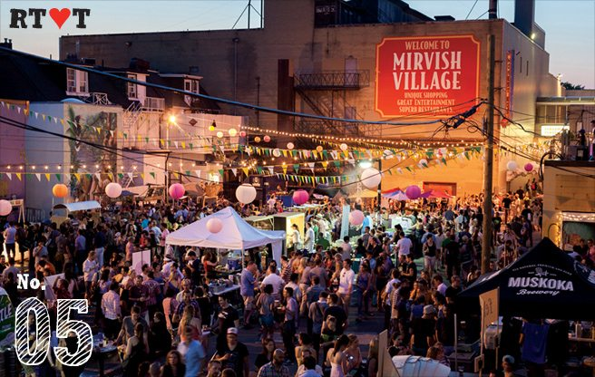 Reason to Love Toronto: The Stop's summer solstice party brings delicious, boozy revelry to a barren laneway