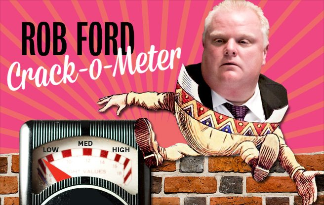 Rob Ford Crack-o-Meter: eager, new hires and money laundering