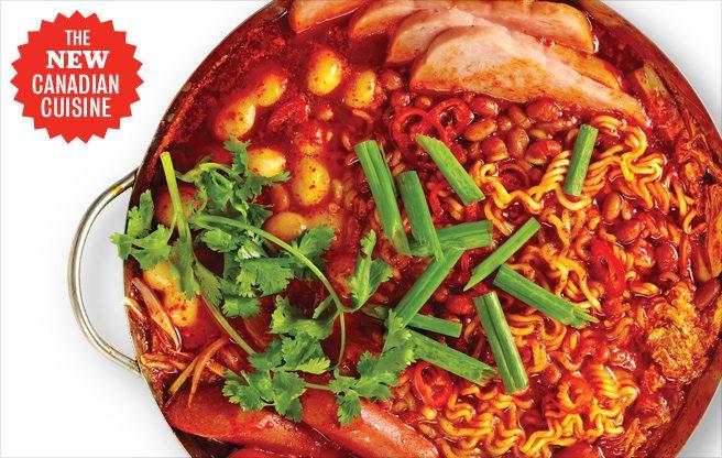 Multicultural Mash-Ups: three brazen interpretations of Canada's cultural mosaic on a plate