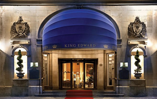 Condo of the Week: $350,000 for a pied-à-terre in the King Edward Hotel