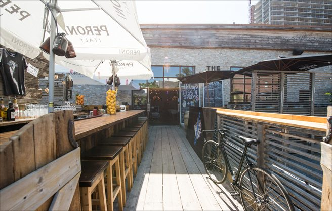 Introducing: Cool City Oyster Yard, a new surf shack at 99 Sudbury that's open from June to October