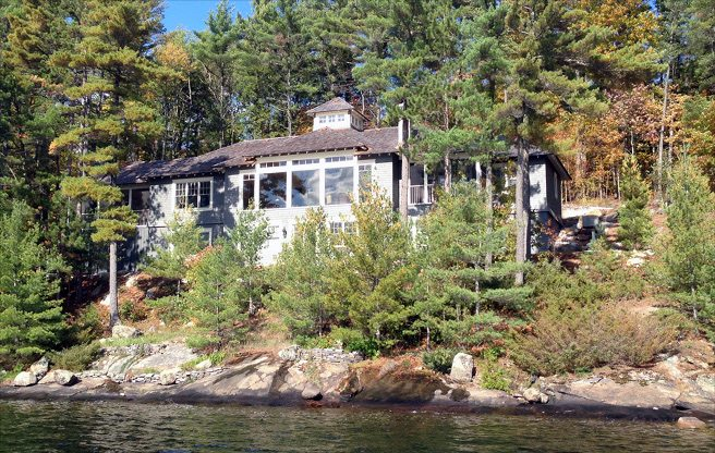 Cottage of the Week: $4.9 million for a Muskoka compound with a two-bedroom boathouse
