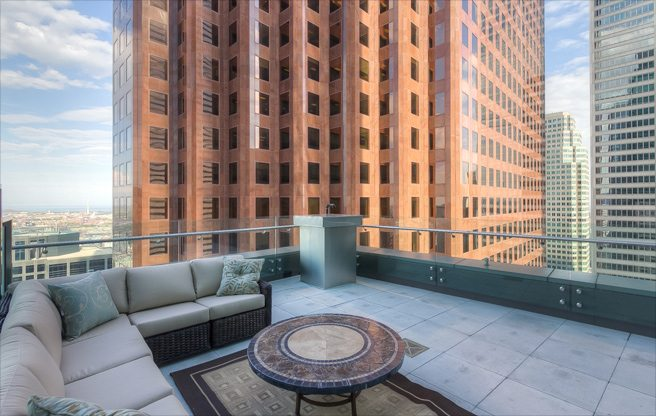 Condo of the Week: $2.3 million for a Trump Tower suite with a striking terrace view