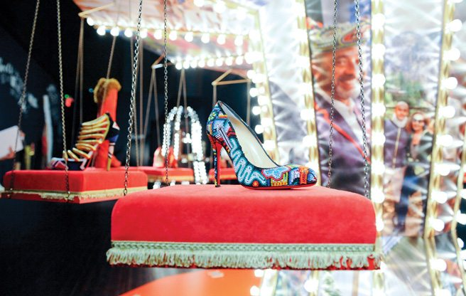 Slideshow: inside the opulent, fanciful Christian Louboutin exhibition at the Design Exchange