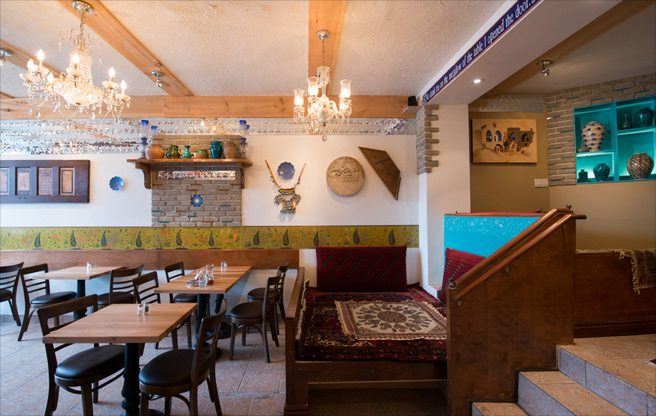 Review: Iranian brunch with a touch of ceremony at Takht-e Tavoos in Dufferin Grove