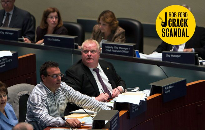Here's what the massive pre-dawn drug raid had to do with Rob Ford