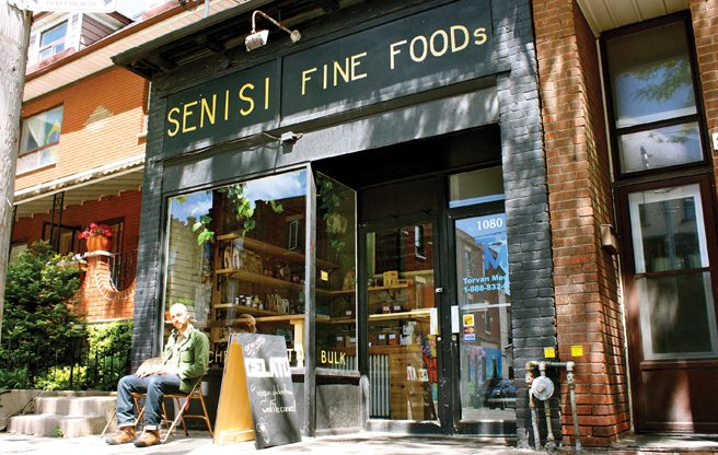Grocery store, deli, coffee house and gelato spot Senisi Fine Foods opens on College Street