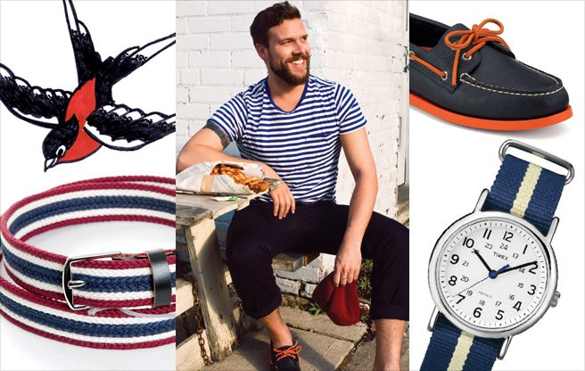 Ship Shape: how to pull off this summer's sartorial sailor aesthetic