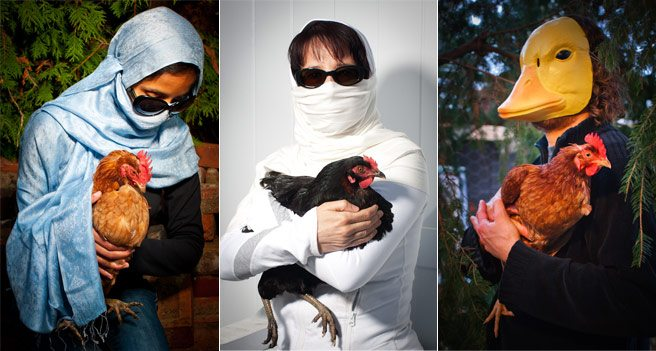 Quoted: an irate chicken rescuer on why she hates urban foodie farmers