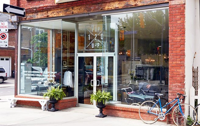 A rotating pop-up shop opens on Ossington