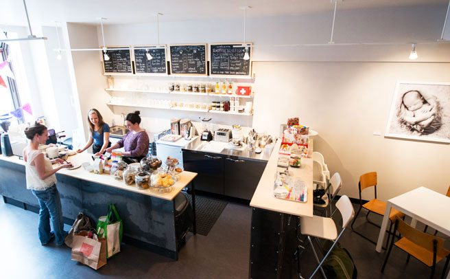 A new, kid-friendly café comes to the Annex